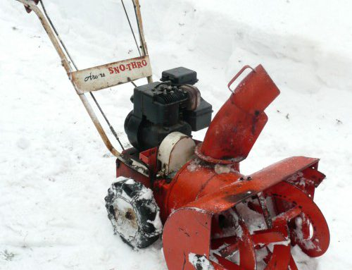 Tips For Maintaining Your Snowblower