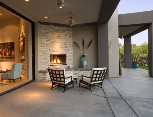 Keeping Cozy Outside with your Outdoor Fireplace